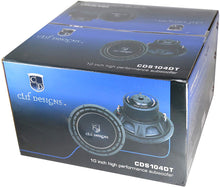 Load image into Gallery viewer, TIC 10 inch High Performance USQ Car Subwoofer Driver 4Ω Dual Voice Coil 1000 Watts Max Power