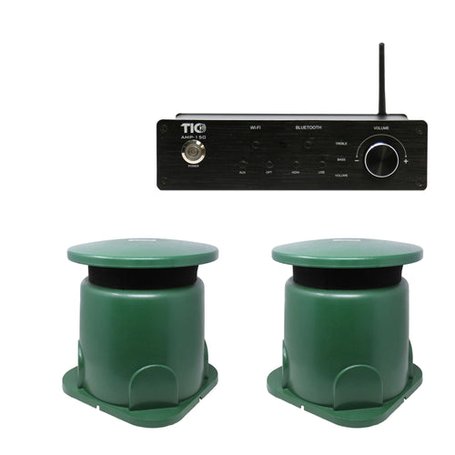 AMP150 Wifi(AirPlay2)&Bluetooth5.0 2*100W Amplifier With 2PCS GS3