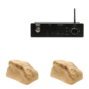 AMP150 Wifi(AirPlay2)&Bluetooth5.0 2*100W Amplifier With 2PCS TFS10