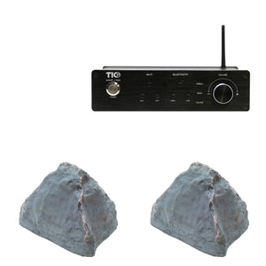 AMP150 Wifi(AirPlay2)&Bluetooth5.0 2*100W Amplifier With 2PCS TFS6