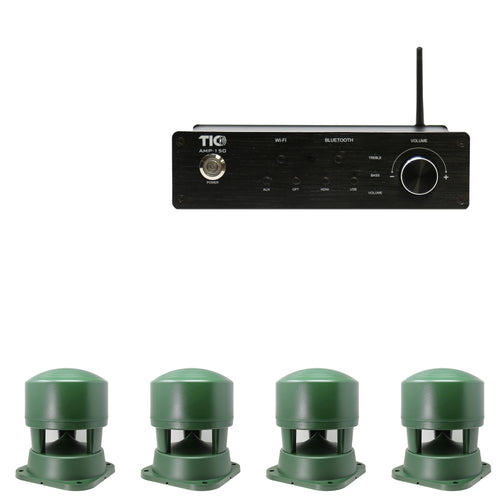 AMP150 Wifi(AirPlay2)&Bluetooth5.0 2*100W Amplifier With 4PCS B03