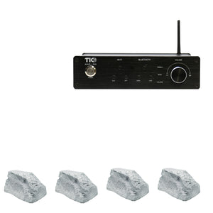 AMP150 Wifi(AirPlay2)&Bluetooth5.0 2*100W Amplifier With 4PCS TFS10