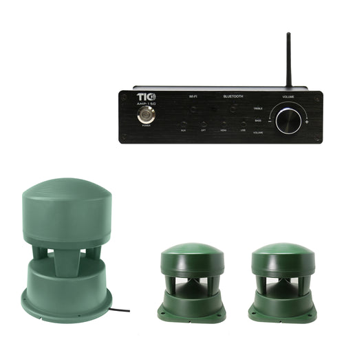AMP150 Wifi(AirPlay2)&Bluetooth5.0 2*100W Amplifier With B50+2PCS B06