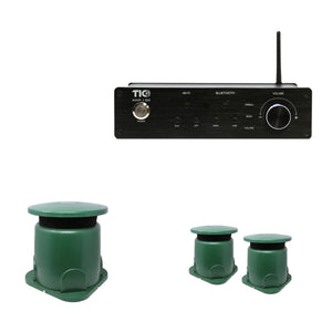 AMP150 Wifi(AirPlay2)&Bluetooth5.0 2*100W Amplifier With GS50 + 2PCS GS5