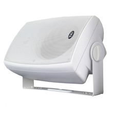 "Load image into Gallery viewer, ASP120 - 6.5"" Outdoor Weather-Resistant Patio Speakers with 70v Switch (Pair)"