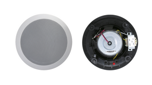 "TIC C7V6 Ceiling Speakers 6.5"" 8Ω 70V Water-Resistant / Set of 4 speakers"