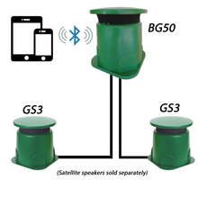 "Load image into Gallery viewer, BG50 - 8"" Bluetooth Omnidirectional In-Ground Subwoofer"