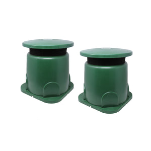 "GS5 - 5"" Compact Outdoor Weather-Resistant Omnidirectional  In-Ground Speakers (pair)"
