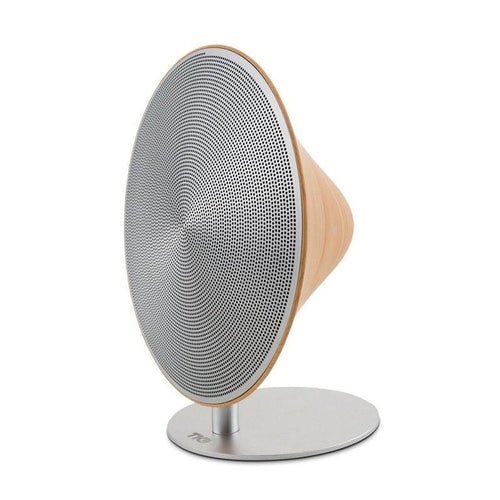 Anaklia - Portable Indoor Bluetooth Speaker (wood grain/aluminum)