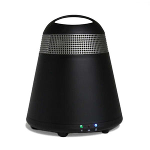 "TIC WB8 WiFi/Bluetooth Multi-Room Weather-Resistant Indoor/Outdoor Speaker (Single) (5"" Portable, Black)"