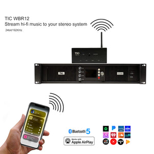 WBR12 Wifi(AirPlay2)&Bluetooth5.0 Transmitter &Receiver
