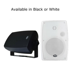 "TIC WPS6 6.5"" Outdoor Weather-Resistant WiFi Patio Speakers with AirPlay (Pair)"