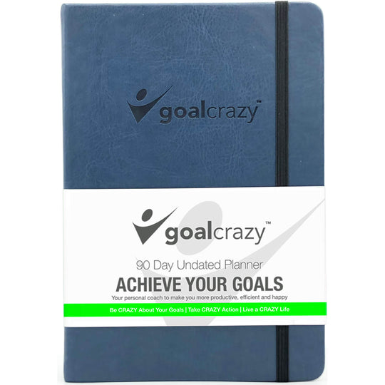 Goal Crazy 90 Day Undated Planner & Journal