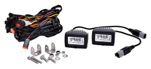"C2 LED; 2"" Area Light Flood Beam System (pr)"