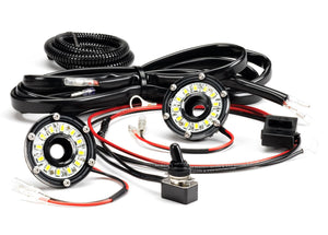 Cyclone LED; Univ 2-Light Under Hood Wiring Kit
