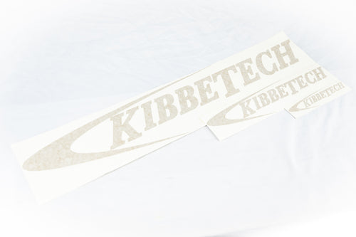 Kibbetech gold stickers