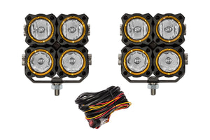 FLEX LED; Quad Combo Beam System 40w (pr)