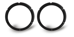 FLEX; Bezel Ring Black (pair)