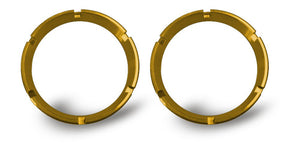 FLEX; Bezel Ring Gold (pair)