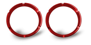 FLEX; Bezel Ring Red (pair)