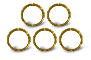 FLEX; Bezel Ring Gold (5 pack)