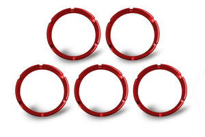 FLEX; Bezel Ring Red (5 pack)