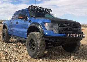 Ford F150/Raptor; Pro6 Gravity LED 8-Light Overhead Sys 09-15