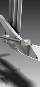 Kibbetech frame rails with integrated 4-link pivots