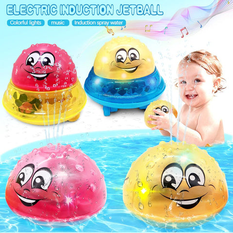Baby Electric Induction Sprinkler Ball