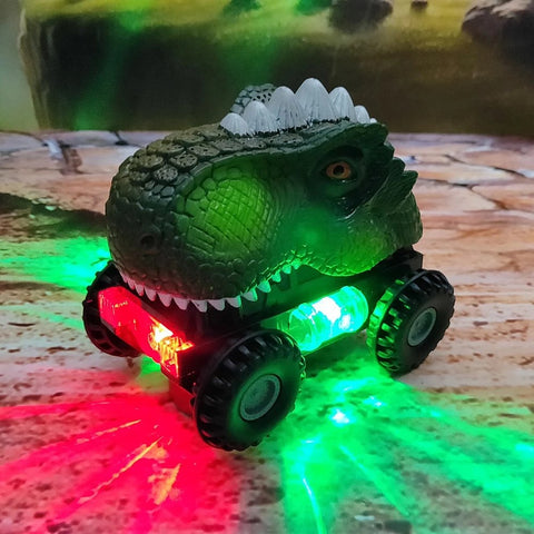 roaring dinosaur led off-road