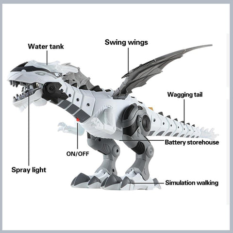 Walking Spray Dinosaur