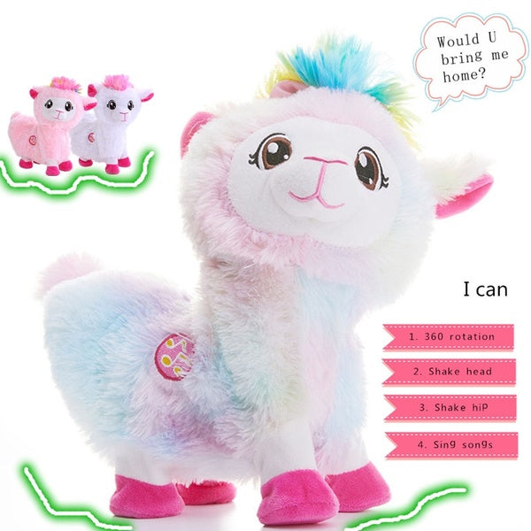 Twerking Alpaca Plush Toy