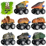 Dinosaur Mini Monster Pullback Cars (Pack of 8)
