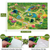 Dinosaur Theme Activity Play Mat & Track Cars