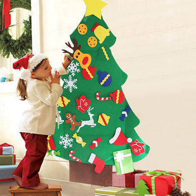 DIY Felt Christmas Tree for Kids