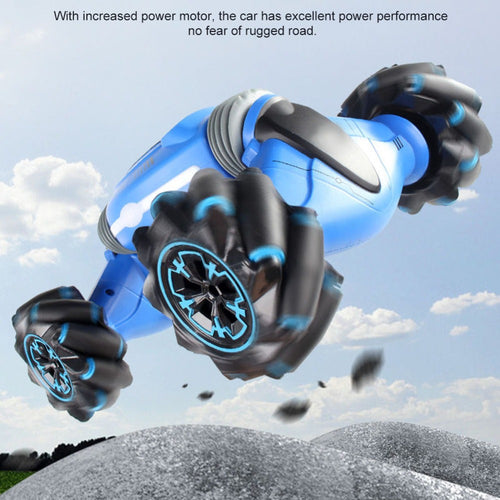 Gesture Controlled Stunt Car
