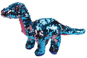 Tremor Dinosaur Sequin Plush Toy