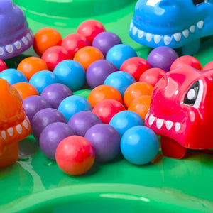 Hungry Dino Grab Beads Board Game