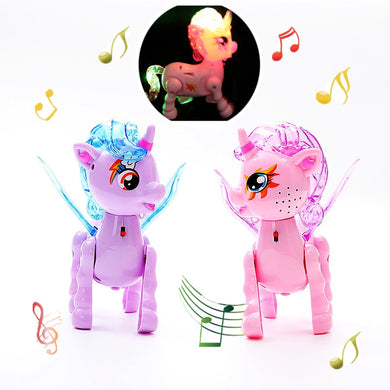 LED Walking Little Pony Leash Toy
