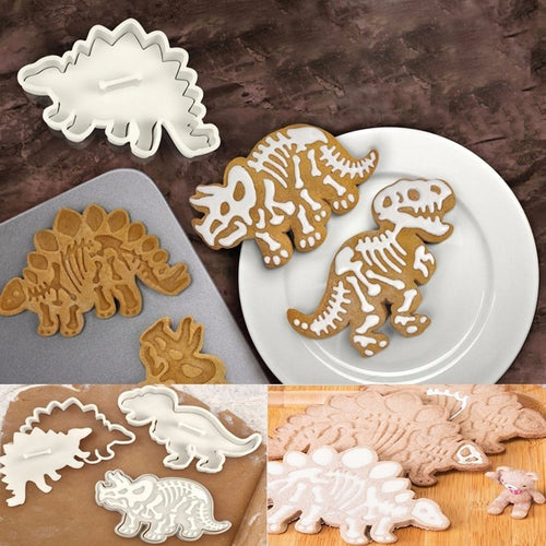 Dinosaur Cookie Cutter (3 PCS SET)