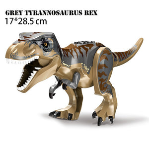 Jurassic World Dinosaurs DIY Assembly Bricks Toy