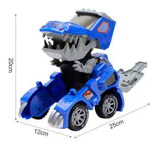 Transforming Dinosaur SUV Led Car