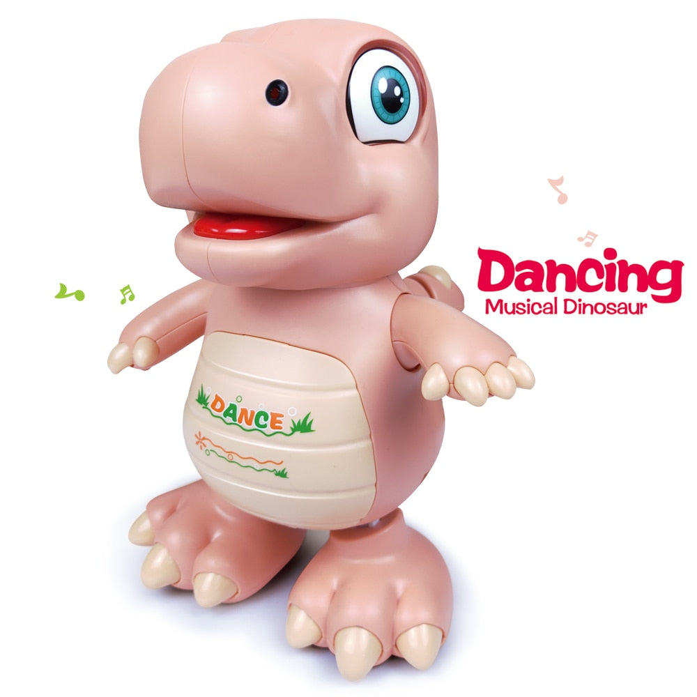 Dancing Musical Dinosaur LED Toy