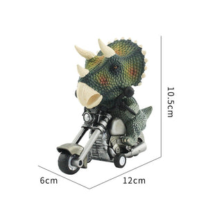 Dinosaur Riders Pull Back Motorcycle (Pack of 2)
