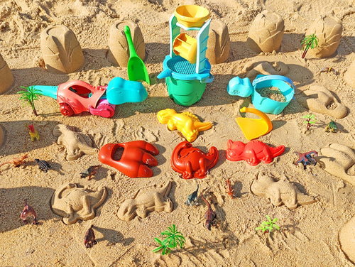 Dinosaur Beach Play toy set