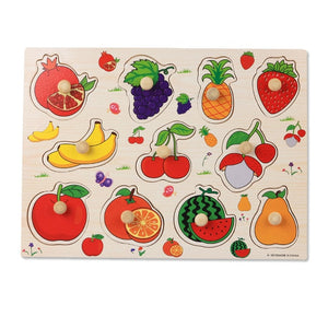 Colorful Kids Learning Wooden Board