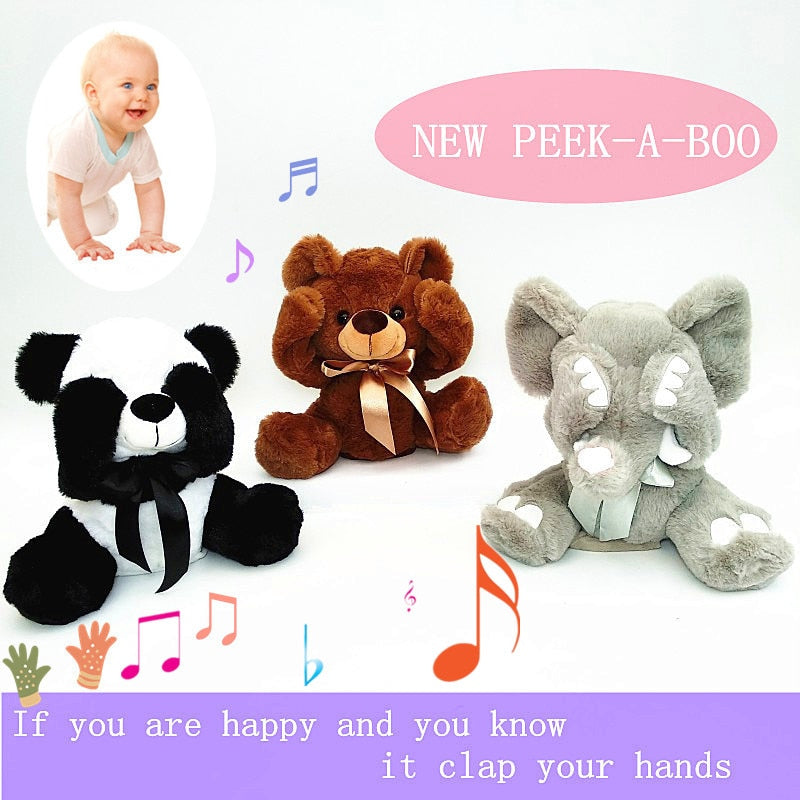 Peek A Boo Musical Plush Toy