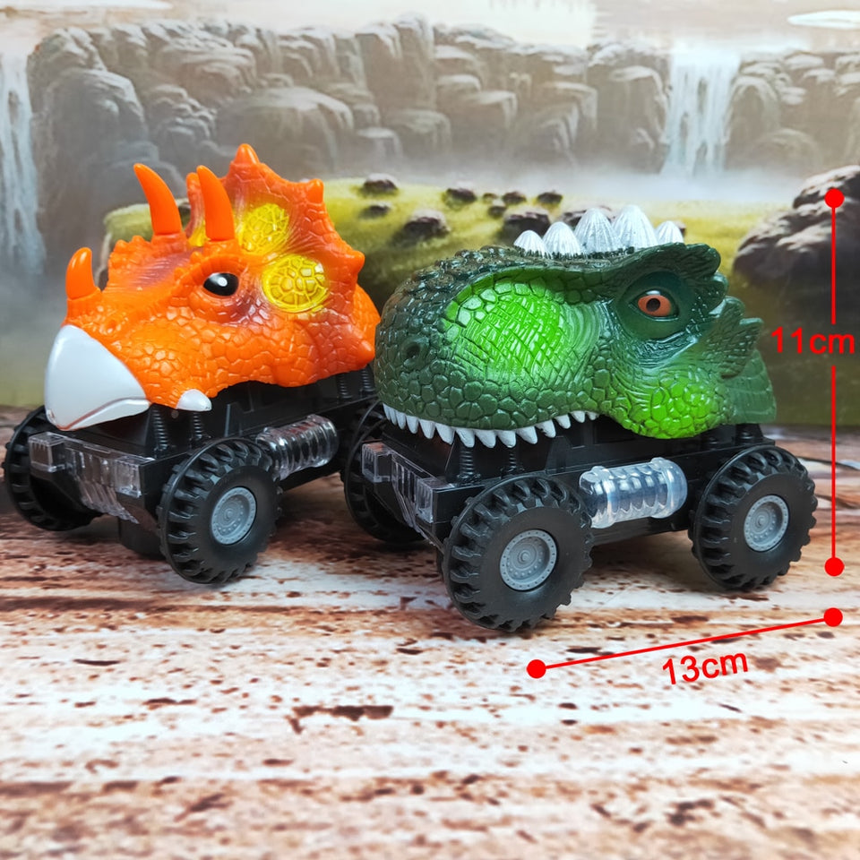 Roaring LED Dinosaur Off-Road
