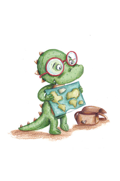A is for Alex Alligator