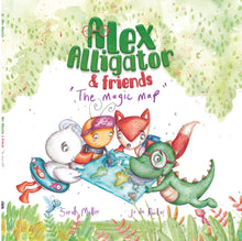 Load image into Gallery viewer, Book 1 - Alex Alligator & Friends: The Magic Map